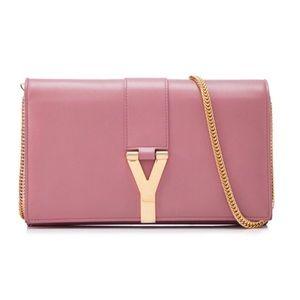 022 Yves Saint Laurent leather classic Y purse (S)